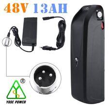 48V 13Ah Lithium Li-ion E-bike Batterie 624W Chargeur Nouveau Slim Style