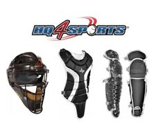27d7e76c95b All Star League Series CKBX-79 Junior Youth Catchers Gear Set - Black Silver