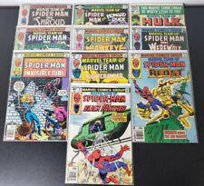 Marvel Team Up #87 88 89 90 91 92 93 94 96 97 (Marvel 1979) w/ Spider-Man