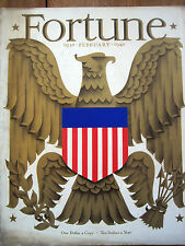 FORTUNE February 1940  1930s US labor, 1930s US farmer, FORTUNE 10th Anniversary