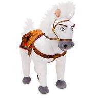 "Disney Store Authentic Tangled Rapunzel Maximus Horse 14"" Plush Stuffed Animal"