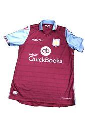 Aston Villa Football Shirt 2016 Intuit Quick Books Uk Small