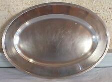 Christofle plat ovale métal argenté  silver plated dish