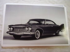 1960 PLYMOUTH  FURY  2DR HARDTOP   11 X 17  PHOTO  PICTURE