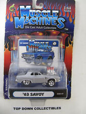 Muscle Machines  Funline  1:64  '63 Savoy  Die Cast Collectible