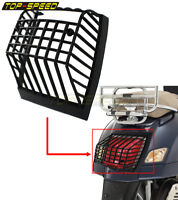 Scooters Rear Light Grille Black ABS Stone Guard For Vespa PX EFL 1984/1985-Up