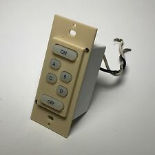 HAI 38A00-1 UPB 6 Button Scene Switch Rev. B with IR Receiver - Ivory
