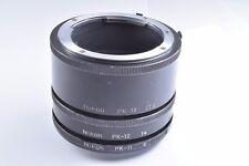 Nikon Extension Tubes PK-11 and PK-12 and PK-13