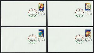 #3949-3952 37c Holiday Cookies, Digital Color MN FDC ANY 5=