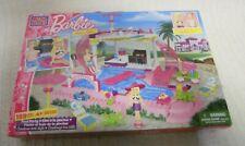 Mega Bloks Barbie: Build 'n Style Pool Party.