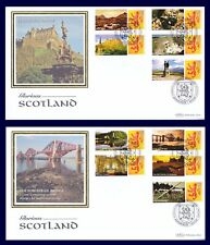 GB 2008 - Glorious Scotland - Generic Smilers FDC , GS046/LS044