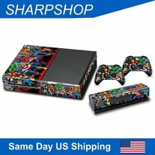 Decal Skin Sticker Protect for Xbox One Console & Controller Cover Whole Suit