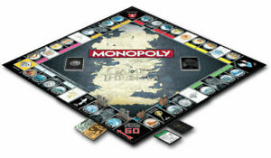 Winning Moves Game of Thrones Monopoly Board Game. Free Post