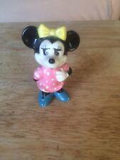 Vintage Old Disney Mini Mouse Figurine