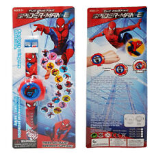NEW SPIDERMAN KID CHILD ELECTRONIC DIGITAL DISPLAY WRIST WATCH PROJECTOR TOY