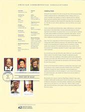 #1437 (49c) Forever Celebrity Chefs #4922-#4926  Souvenir Page