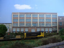#226 N scale background building flat   LARGE FACTORY #2   *FREE SHIPPING*