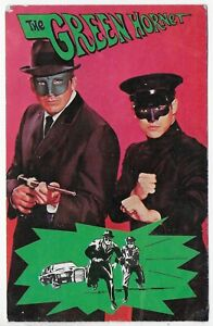 (5680) 1966 Postcard  THE GREEN HORNET WITH GUN &  KATO