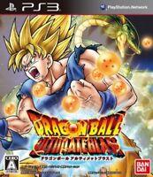 PS3 Dragon Ball Z Ultimate Blast Dragonball Japan PlayStation 3 F/S
