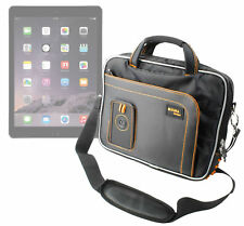 Protective Black/Orange Storage Bag For Apple iPad 3, 4, Air 2 & iPad Pro 10.5
