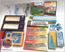 H0 escala 1:87 ho locomotive vagones cajas vacias empty box Piko DVD Set 19x <<
