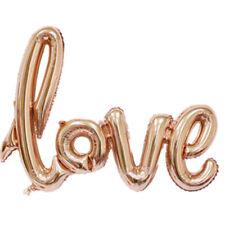 LOVE Shape Foil Balloon Birthday Wedding Party Anniversary Decor HeliumBalloonYA