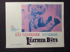1966 THE LEATHER BOYS 14x11 Lobby Card LOT of 7 FN+ 6.5 Rita Tushingham