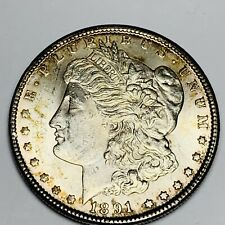 1891-CC Morgan Silver Dollar Brilliant Gem Uncirculated