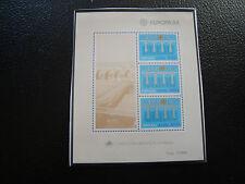ACORES - timbre yvert et tellier bloc n° 5 n** (Z11) stamp