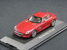 Schuco Mercedes-Benz SLS AMG 1:43 Le Mans Red (JS)