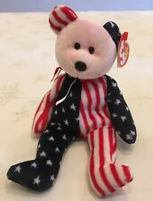ty Beanie Babies - SPANGLE THE AMERICAN BEAR - Retired1999 - With tags.