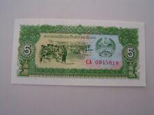 Banknote - Laos,  5 Kip,