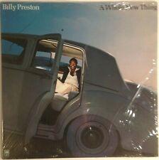Billy Preston A Whole New Thing vinyl LP open shrink 1977 Ex+ Funk Disco Soul