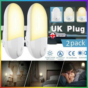 4×Automatic LED Night Light Plug in Dusk to Dawn Sensor Extrastar Kids Light Kit