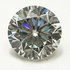 1.34CTS 6MM IF VG ROUND COLORLESS WHITE TINT LAB CERTIFIED LOOSE NATURAL DIAMOND
