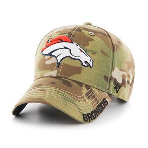 Denver Broncos 47 Brand Myers Cap Adjustable Hat Camoflage
