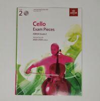 (NO CD) ABRSM Cello Exam Pieces 2020 - 2023 Score & Part Grade 2