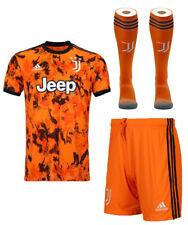 Ronaldo Juventu Kids 20/21 Third 3RD ORANGE Kit NEW