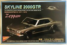 Nichimo 1:24 Nissan Skyline 2000GTR Nissan 1971 Zeppan Kit de Modelismo Serie 05