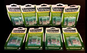 Listerine PocketPaks Breath Strips FreshBurst 3-pk / 72ea (LOT OF 9)