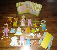 BABY CHEERFUL TEARFUL Whitman Paper Doll 1968 has most to all pieces