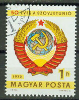 Briefmarken Ungarn 1972 50 Jahre Sowjetunion Mi.Nr.2827