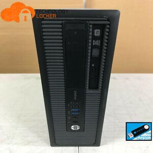 HP EliteDesk 800 G1 SFF PC Intel i7-4770 @3.40GHz 8GB RAM 240GB SSD Win 10