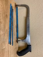 VTG Craftsman No 60 Hack Saw, With 4 Craftsman Blade 10x24 T