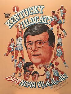 Kentucky Wildcats 1978 NCAA Champions Print