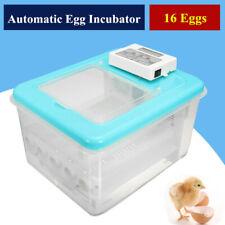 16 Eggs Digital Incubator Poultry Bird Chicken Duck Hatcher Automatic  D