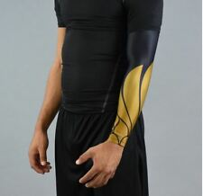 Lcarus Black and Gold Protective Arm Sleeve - Large