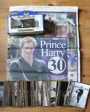 PRINCE WILLIAM & HARRY ROYAL COMMEMORATIVES COLLECTION DIECAST CAR ETC EX CON