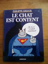 Philippe Geluck - Le chat est content - casterman - 2000
