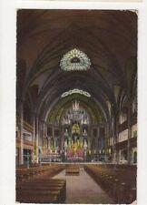 Eglise de Notre Dame Montreal Vintage Postcard Canada 516a